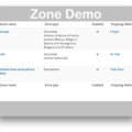 WooCommerce Table Rate Shipping Plugin Version 2 - Zones
