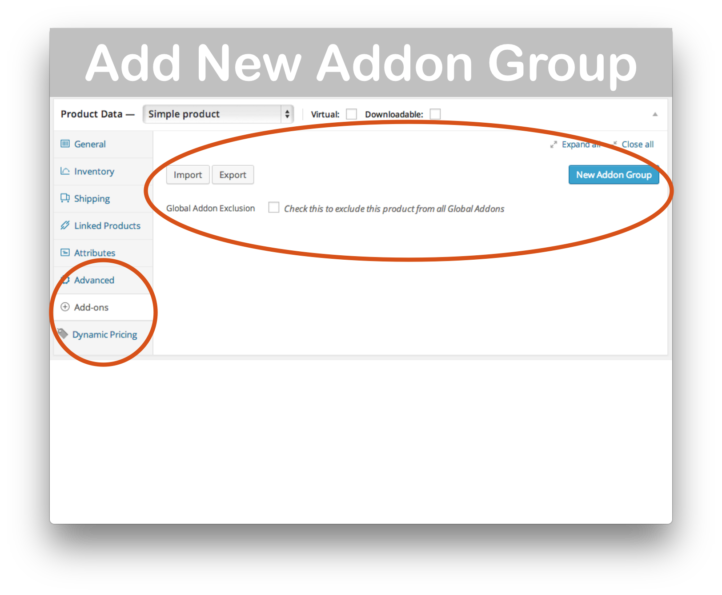 WooCommerce Product AddOns- New Group Demo