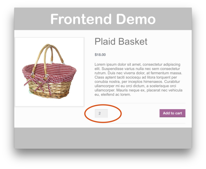 WooCommerce Min/Max Quantities Extension- Demo
