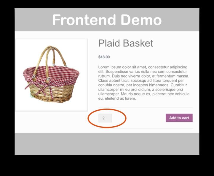 WooCommerce Min/Max Quantities Extension- Demo