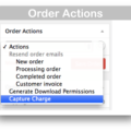 WooCommerce Authorize.net Payment Gateway Extension- Order Actions
