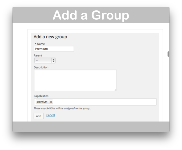 Groups Integration For WooCommerce Plugin- Add Group