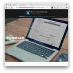 Events Calendar Filter Bar Plugin