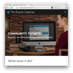 Events Calendar Community Tickets