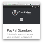 Formidable Pro Forms PayPal Add-On