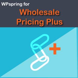 WooCommerce Wholesale Pricing Plus Plugin