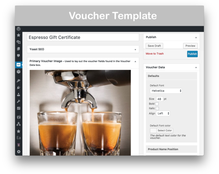 WooCommerce Gift Certificates Pro Download-voucher-template-1