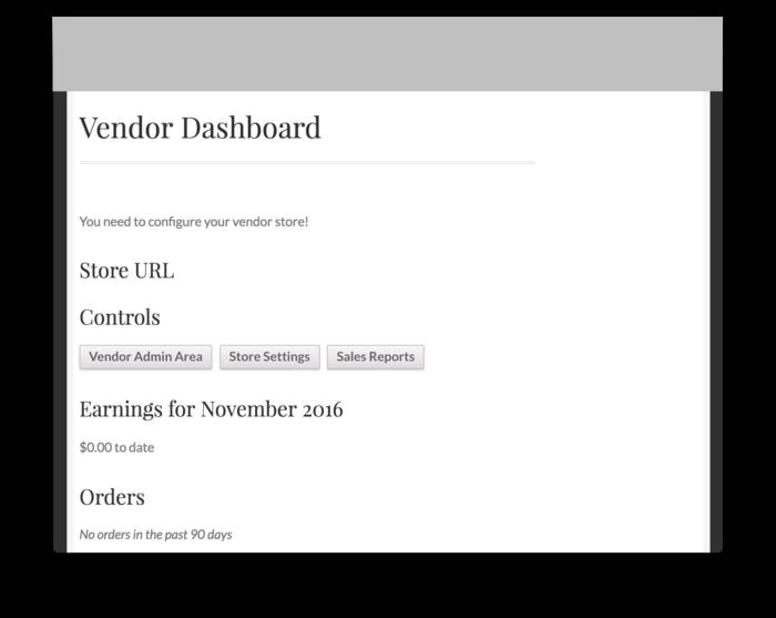 WooCommerce Vendor Stores Download-Vendor Dashboard Demo