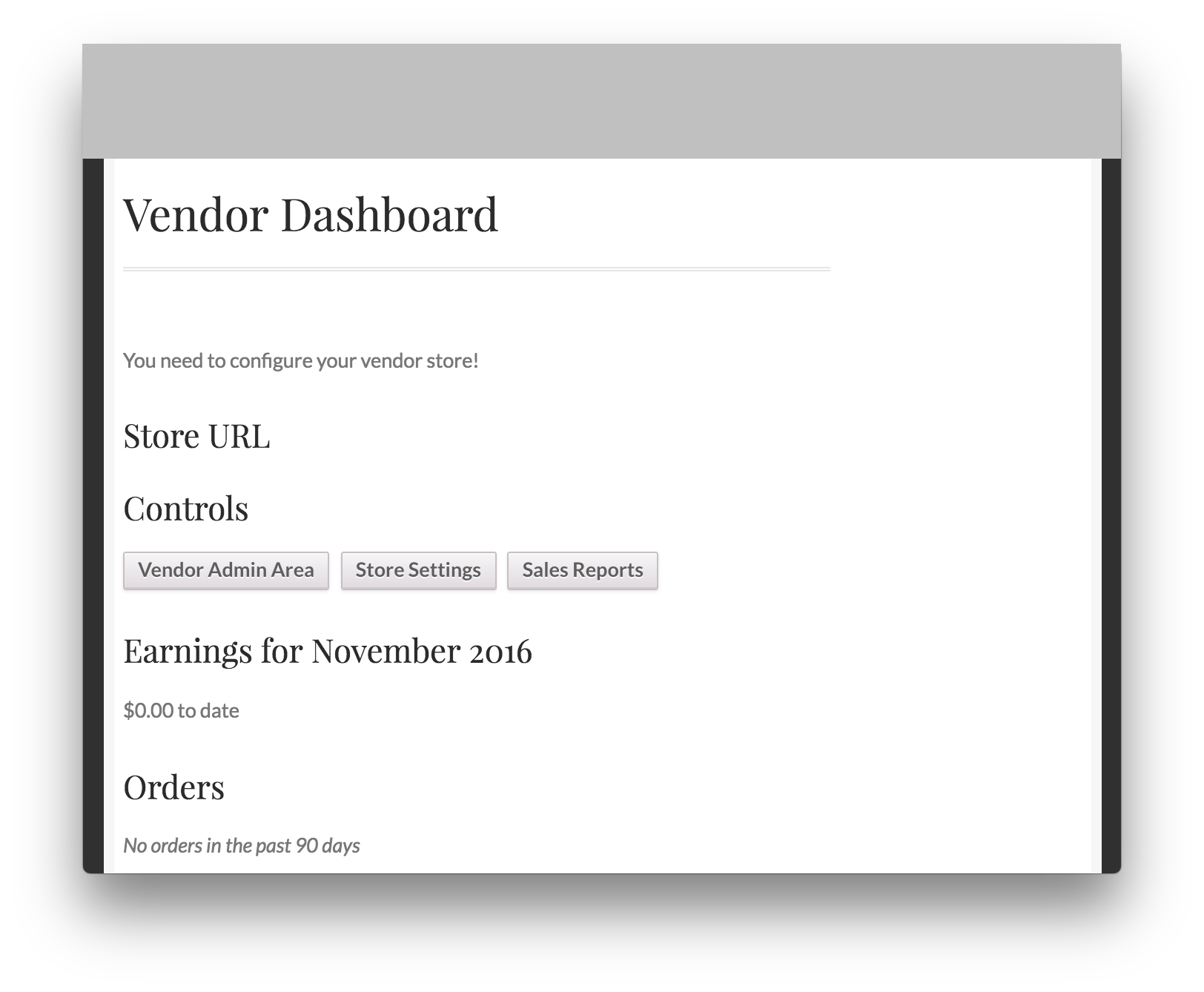 WooCommerce Vendor Stores Download - Vendor Dashboard Demo