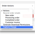 WooCommerce Chase Paymentech Payment Gateway - Capture Charge
