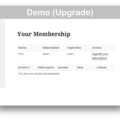 Restrict Content Pro WooCommerce Plugin- Upgrade Demo