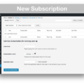 Restrict Content Pro WooCommerce Plugin- New Subscription