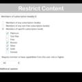 Restrict Content Pro WooCommerce Plugin- Content Restrictions