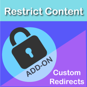 Restrict Content Pro Custom Redirects Add On