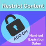 Restrict Content Pro Hard-set Expiration Dates Add On