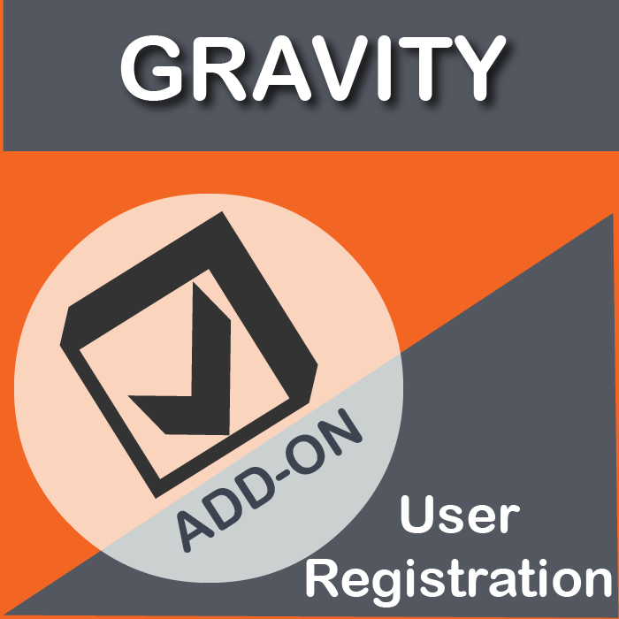 Gravity Forms User Registration Add-On-