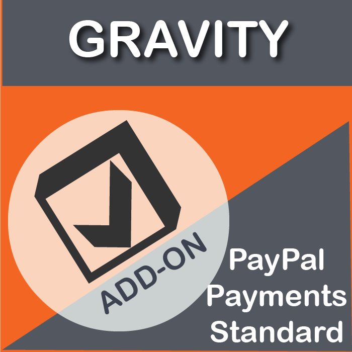 Gravity Forms PayPal Payments Standard Add-On-