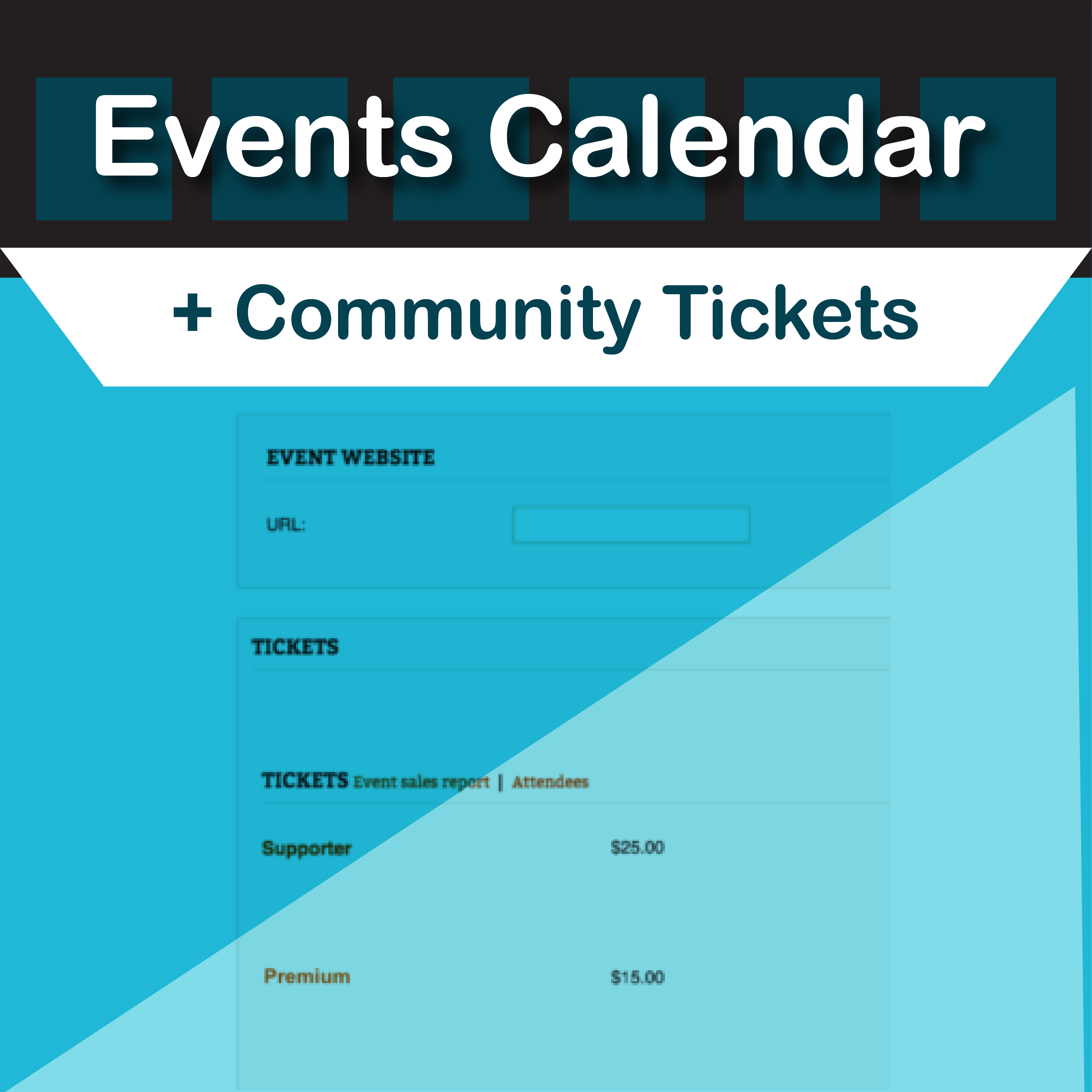 Events Calendar Community Tickets by Modern Tribe