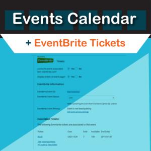 Events Calendar Eventbrite Tickets Plugin by Modern Tribe