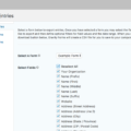 Gravity Forms for WordPress – Demo Export Entries