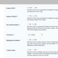 Gravity Forms for WordPress – Demo Settings