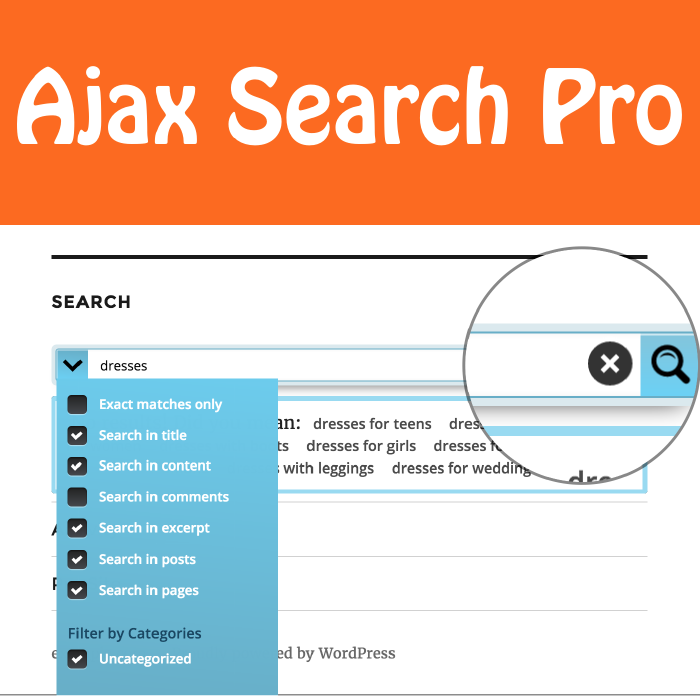 Ajax Search Pro for WordPress – Live Search Plugin