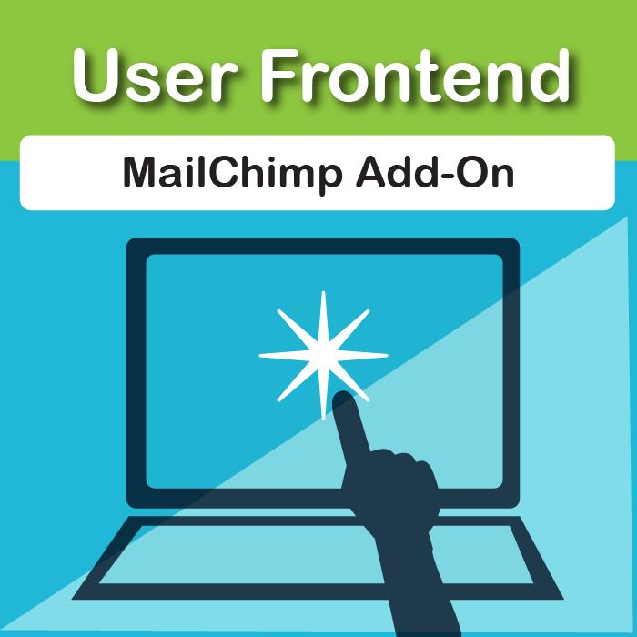 WP User Frontend Pro MailChimp Integration