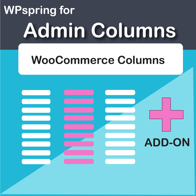 Admin Columns Pro Woocommerce Columns Add-On