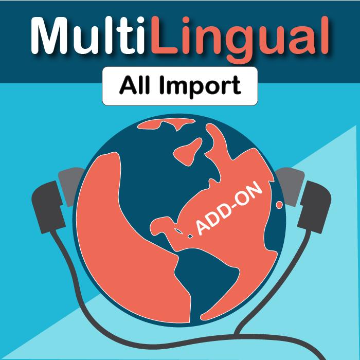 Wordpress Multilingual All Import Add-On