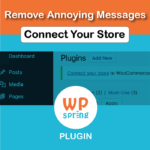 Remove WooCommerce Connect Your Store Notice Plugin