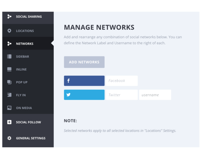 Divi Monarch Plugin for Social Media Sharing by Elegant Themes Demo 2