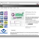 Affiliates Pro Wordpress Plugin Affiliates Pro for WooCommerce Extension Demo Screenshot