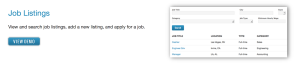 Formidable Pro Download Job Listing View