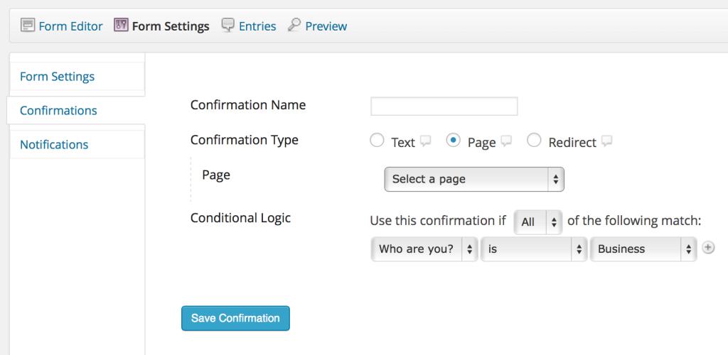 Google Analytics Via Google Analytics Page Confirmation
