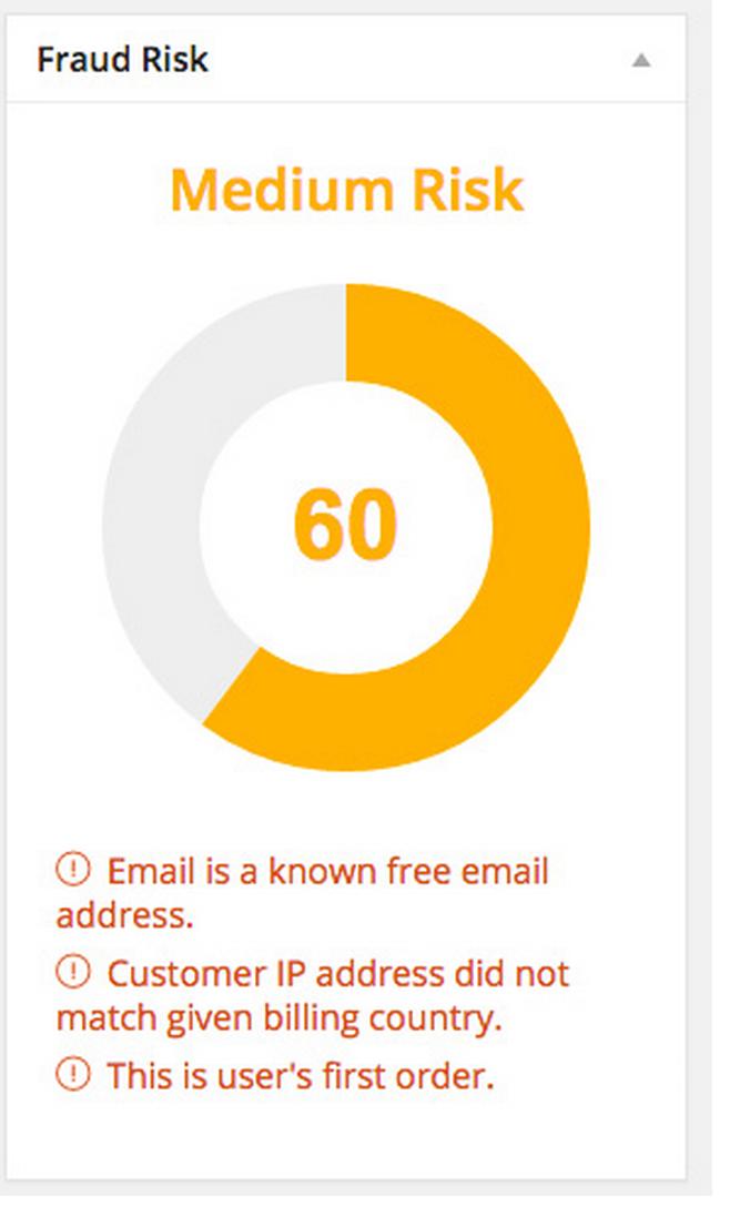 WooCommerce Anti Fraud Detection Plugin Demo