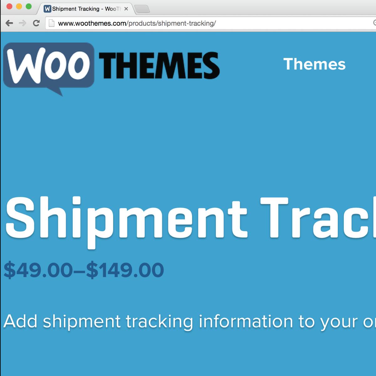 woocommerce shipment tracking plugin   15 download v1 4 2